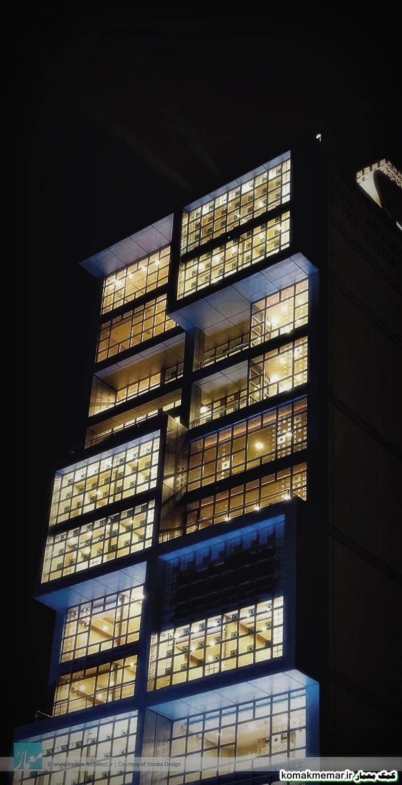 ساختمان اداری ـ تجاری شاهکرم